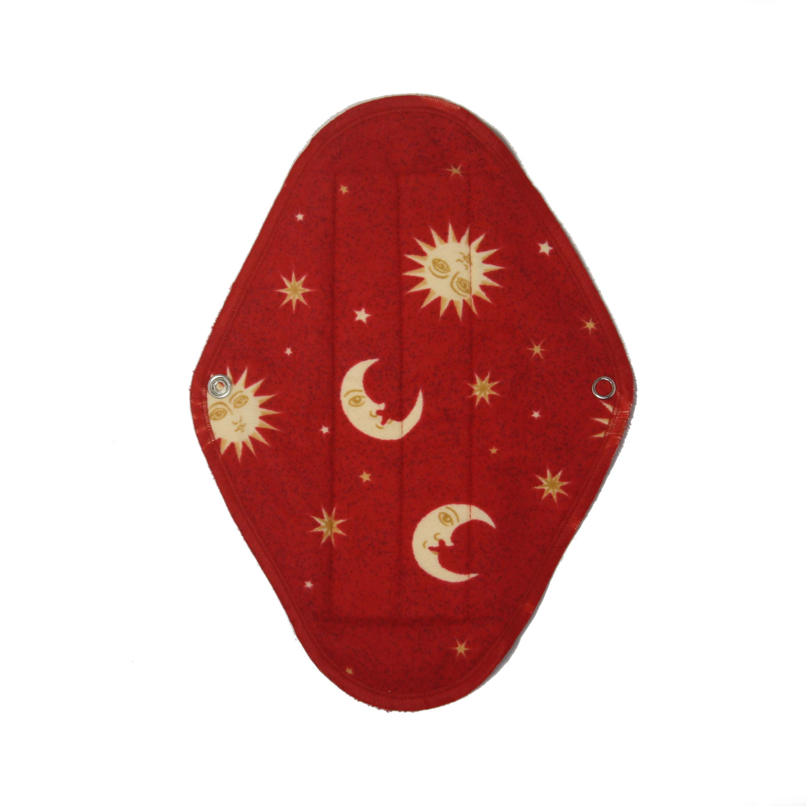 Maxi Red Moon - flannelette